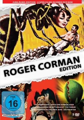 Roger Corman Edition - Die Wespenfrau / Der kleine Horrorladen / Das Grauen kam um Mitternacht / The Terror / Das Vermächtnis des prof. Boni / Das Raubtier (5 DVDs)
