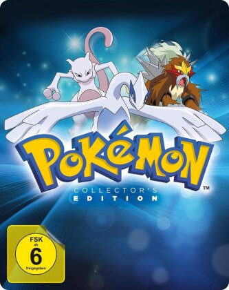 Pokémon 1-3 - Pokémon - Der Film / Pokémon 2 - Die Macht des Einzelnen / Pokémon 3 - Im Bann der Icognito (Limited Collector's Edition, Steelbook, 3 Blu-rays)