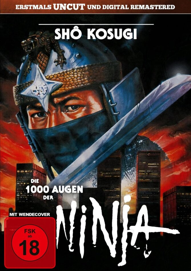 Die 1000 Augen der Ninja (1985) (Digital Remastered, Uncut)