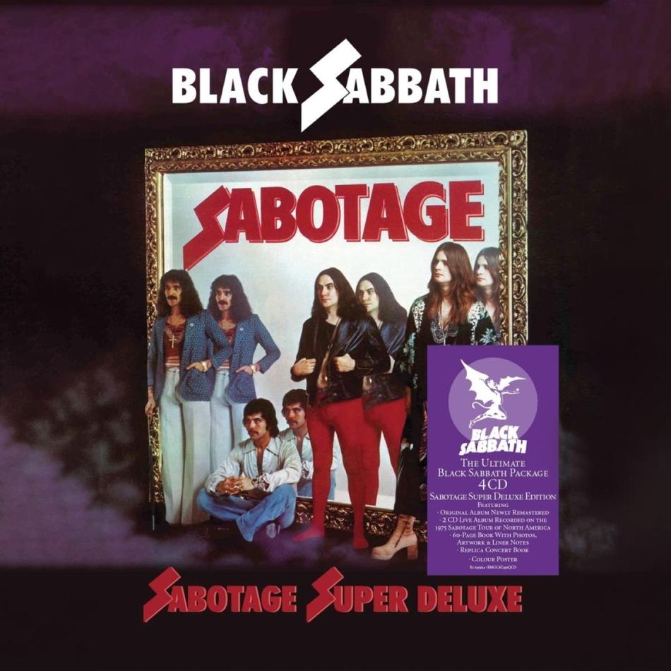 Black Sabbath - Sabotage (Super Deluxe Boxset, 2021 Reissue, 4 CDs)