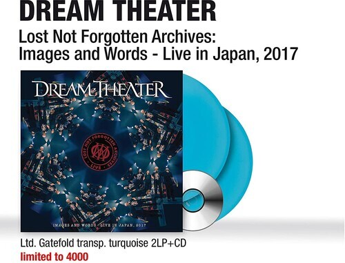 Dream Theater - Lost Not Forgotten Archives: Images And Words - Live In Japan, 2017 (Gatefold, Colored, 2 LPs + CD)