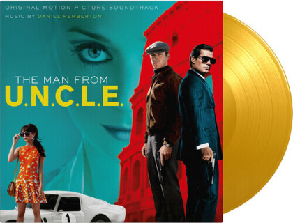 Daniel Pemberton - Man From U.N.C.L.E. - OST (2021 Reissue, Music On Vinyl, Limited Edition, Colored, 2 LPs)