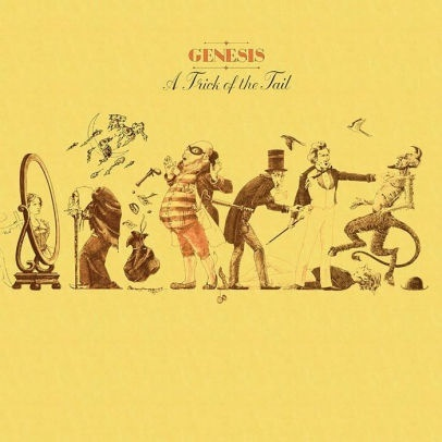 Genesis - A Trick Of The Tail (Yellow Vinyl, LP)