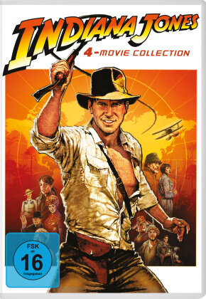 Indiana Jones - 4-Movie Collection (Neuauflage, 4 DVDs)