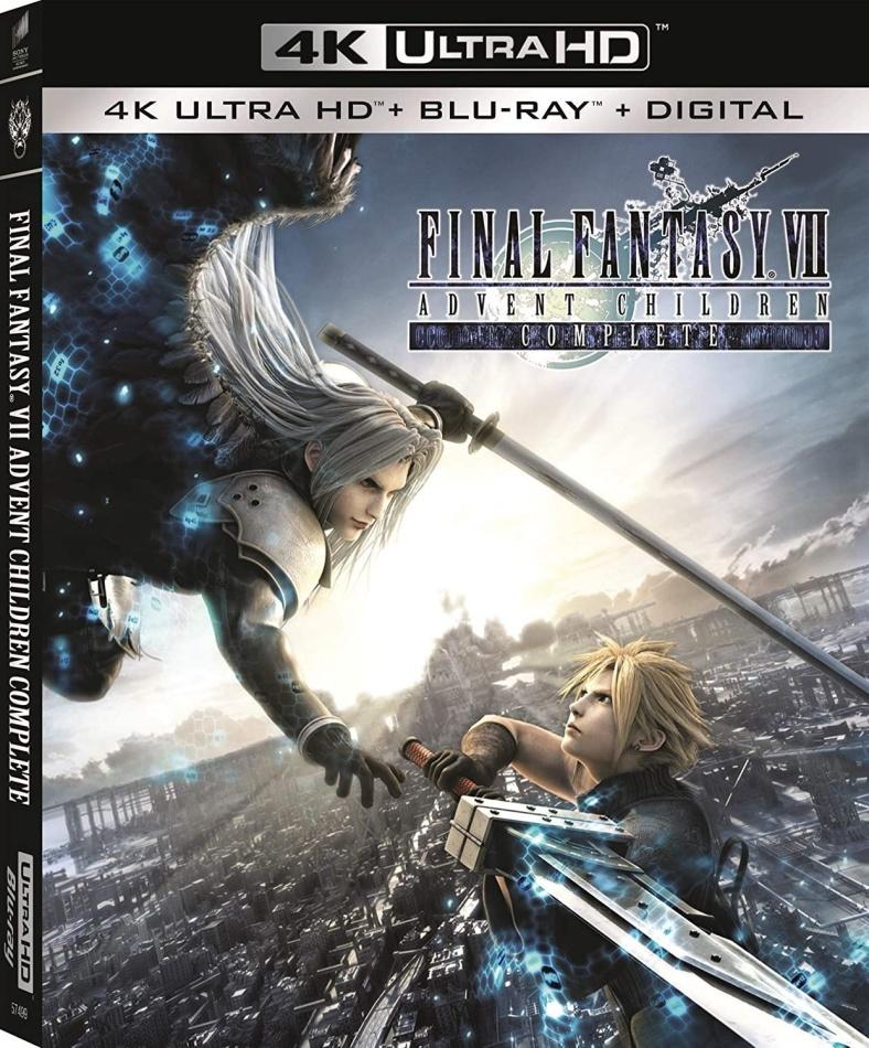 Final Fantasy VII - Advent Children Complete (2005) (4K Ultra HD + Blu-ray)