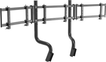 Oplite - GTR Triple Monitor Stand (PlayStation 5 + Xbox Series X)