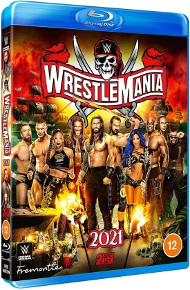 WWE: Wrestlemania 37 (2 Blu-rays)