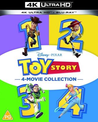 Toy Story 1-4 (4 4K Ultra HDs + 4 Blu-ray)