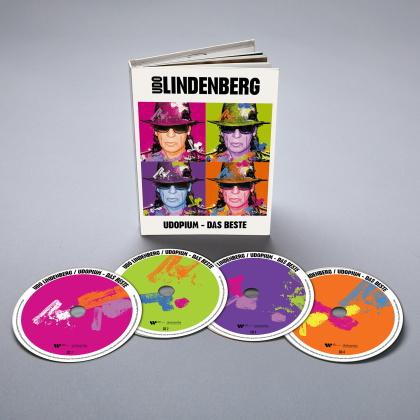 Udo Lindenberg - UDOPIUM-Das Beste (Special Taschenbuch Edition, 4 CDs)