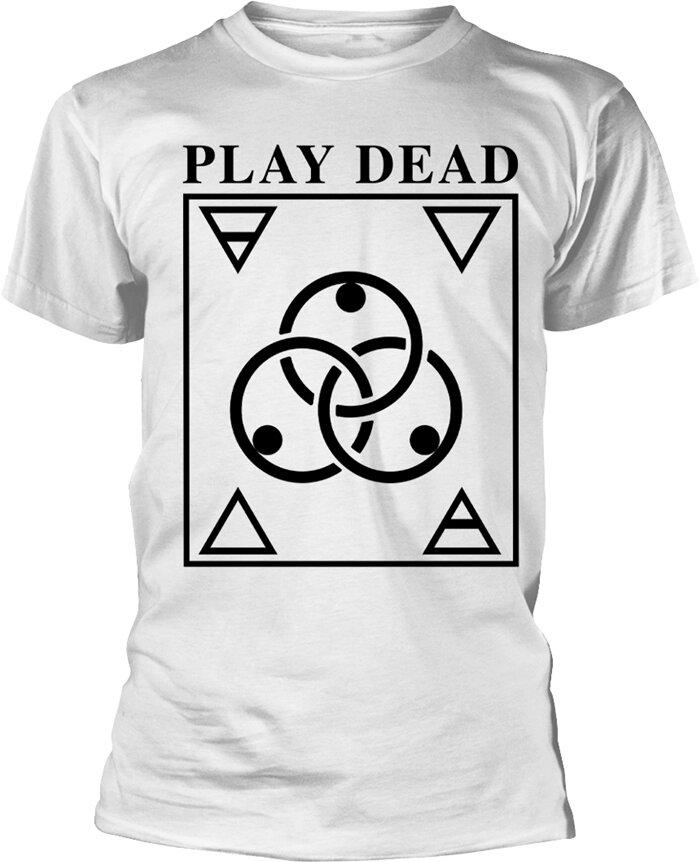 Play Dead - Logo (White) - Grösse M