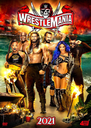 WWE: Wrestlemania 37 (Special Edition, 4 DVDs)
