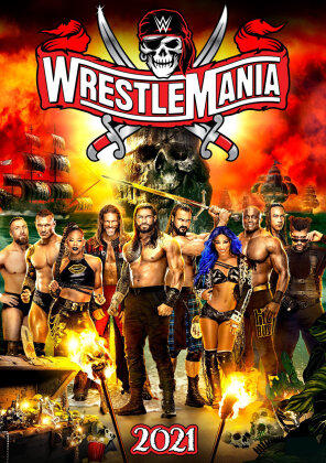 WWE: Wrestlemania 37 (3 DVDs)