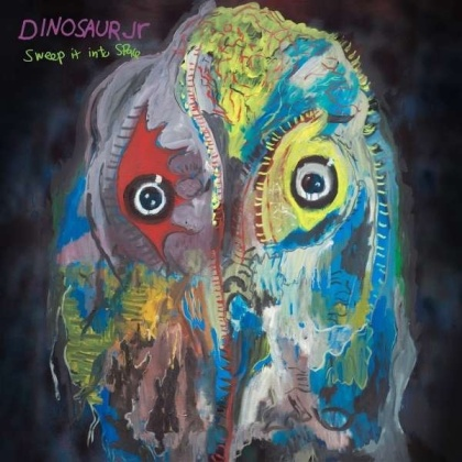 Dinosaur Jr. - Sweep It Into Space (Limited Edition, Opaque White With Purple Splatter Vinyl, LP)