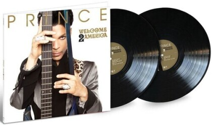 Prince - Welcome 2 America (Etched D-Side, Spotgloss Cover, 2 LPs)