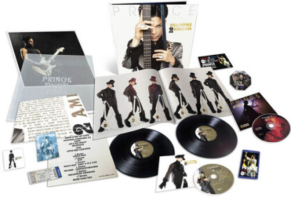 Prince - Welcome 2 America (+ Poster, 2 LPs + CD + Blu-ray)