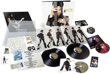 Prince - Welcome 2 America (+ Poster, 2 LP + CD + Blu-ray)