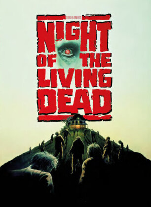 Night of the living dead (1990) (Cover C, Limited Edition, Mediabook, Uncut, Blu-ray + DVD)
