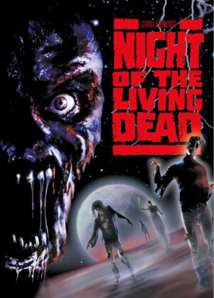 Night of the living dead (1990) (Cover A, Limited Edition, Mediabook, Uncut, Blu-ray + DVD)