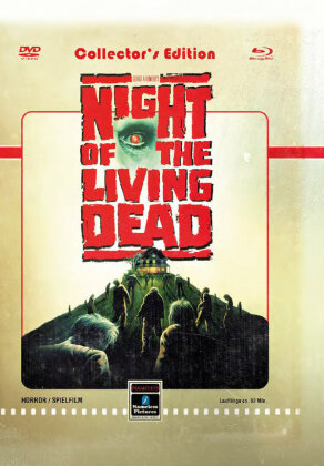 Night of the living dead (1990) (Cover D, Limited Edition, Mediabook, Uncut, Blu-ray + DVD)
