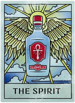 Deadly Tarot Life - The Spirit Glass Chopping Board