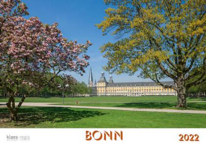 Bonn 2022 Bildkalender A4 quer - spiralgebunden