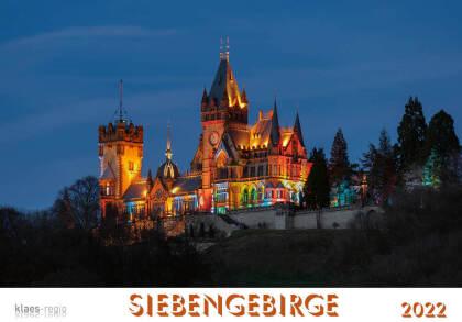 Siebengebirge 2022 Bildkalender A4 quer - spiralgebunden