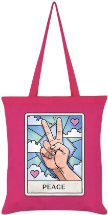 Deadly Tarot Life: Peace - Tote Bag