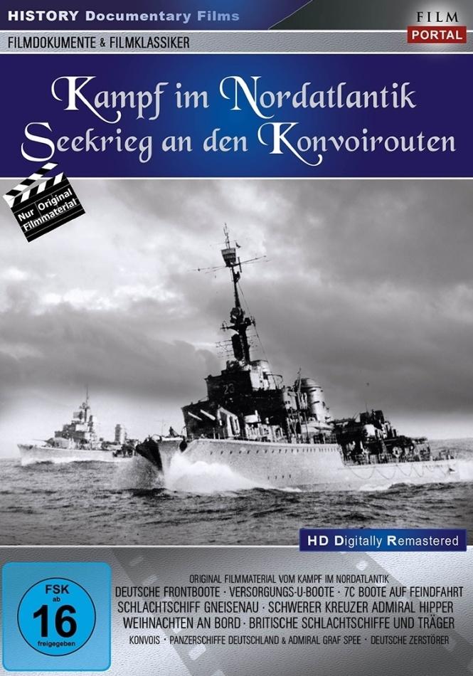 Kampf im Nordatlantik - Seekrieg an den Konvoirout (Remastered)