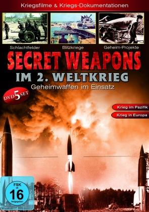 Secret Weapons im 2. Weltkrieg - Geheimwaffen im Einsatz (5 DVDs)