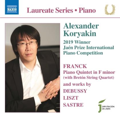 Breton String Quartet, César Franck (1822-1890), Claude Debussy (1862-1918), Franz Liszt (1811-1886), Jorge Sastre, … - Piano Works - Laureate Series - Piano