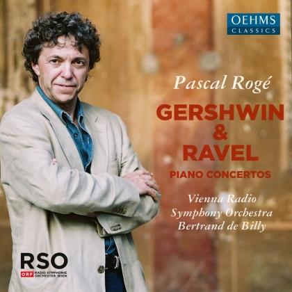 George Gershwin (1898-1937), Maurice Ravel (1875-1937), Bertrand de Billy, Pascal Rogé & Vienna Radio Symphony Orchestra - Piano Concertos (2 CDs)