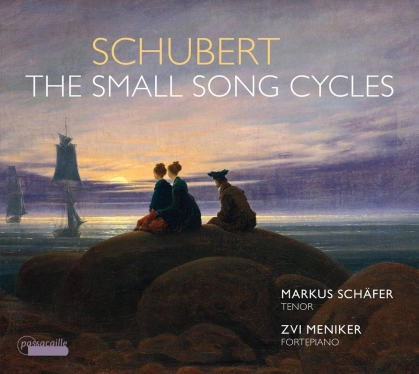 Franz Schubert (1797-1828), Markus Schäfer & Zvi Meniker - Small Song Cycles
