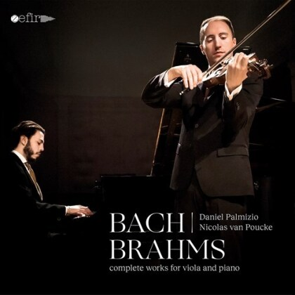 Johannes Brahms (1833-1897), Daniel Palmizio & Nicolas van Poucke - Complete Works For Viola And Piano (2 CDs)