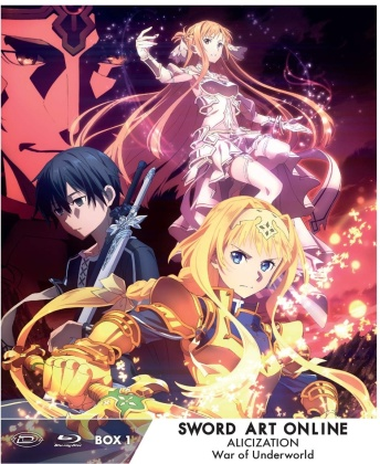 Sword Art Online - Alicization - War of Underworld - Vol. 1 (Limited Edition, 3 DVDs)