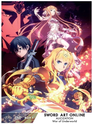 Sword Art Online - Alicization - War of Underworld - Vol. 1 (Limited Edition, 3 Blu-rays)