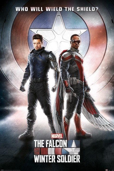 The Falcon and the Winter Soldier: Wield the Shield - Maxi Poster