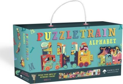 Alphabet Puzzletrain - 26-Piece Puzzle