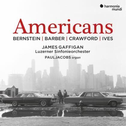 Luzerner Sinfonieorchester, Leonard Bernstein (1918-1990), Samuel Barber (1910-1981), Charles Ives (1874-1954), Ruth Crawford (1901-1953), … - Americans