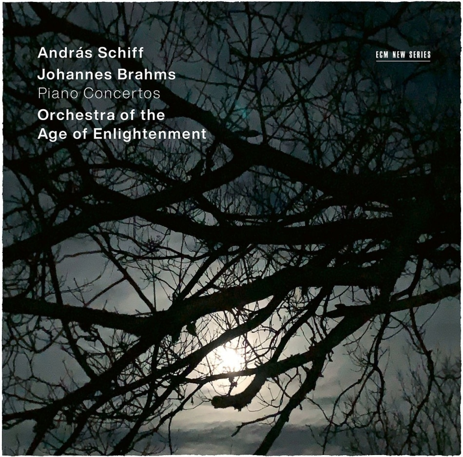Orchestra of the Age of Enlightenment, Johannes Brahms (1833-1897) & Andras Schiff - Piano Concertos (2 CDs)