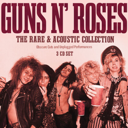 Guns N' Roses - The Rare & Acoustic Collection (3 CDs)