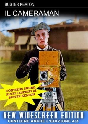 Il cameraman (1928) (s/w, Neuauflage)