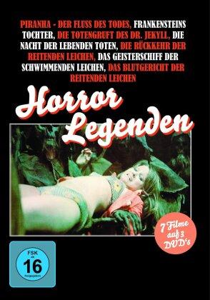 Horror Legenden - 7 Filme (3 DVDs)