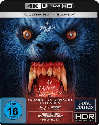 An American Werewolf in London (1981) (4K Ultra HD + 2 Blu-rays)