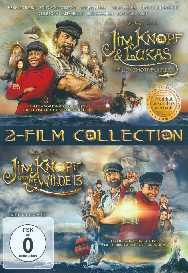 Jim Knopf & Lukas der Lokomotivführer / Jim Knopf und die Wilde 13 - 2-Film Collection (2 DVDs)