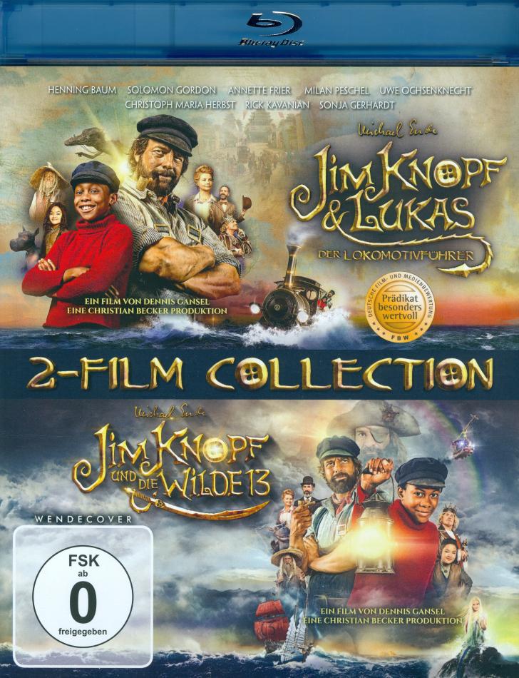 Jim Knopf & Lukas der Lokomotivführer / Jim Knopf und die Wilde 13 - 2-Film Collection (2 Blu-rays)