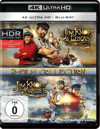 Jim Knopf & Lukas der Lokomotivführer / Jim Knopf und die Wilde 13 (2-Film Collection, 2 4K Ultra HDs + 2 Blu-rays)