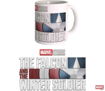 Marvel The Falcon and the Winter Soldier: Logo - Tasse