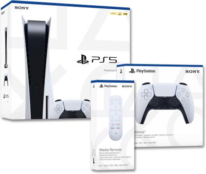 Playstation 5 Bundle 2 - (Konsole + 2. Controller + Remote Control)