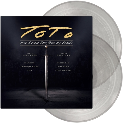 Toto - With A Little Help From My Friends (Clear Vinyl, 2 LPs)