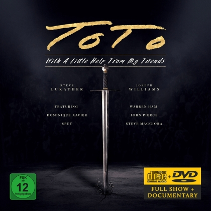 Toto - With A Little Help From My Friends (CD + DVD)